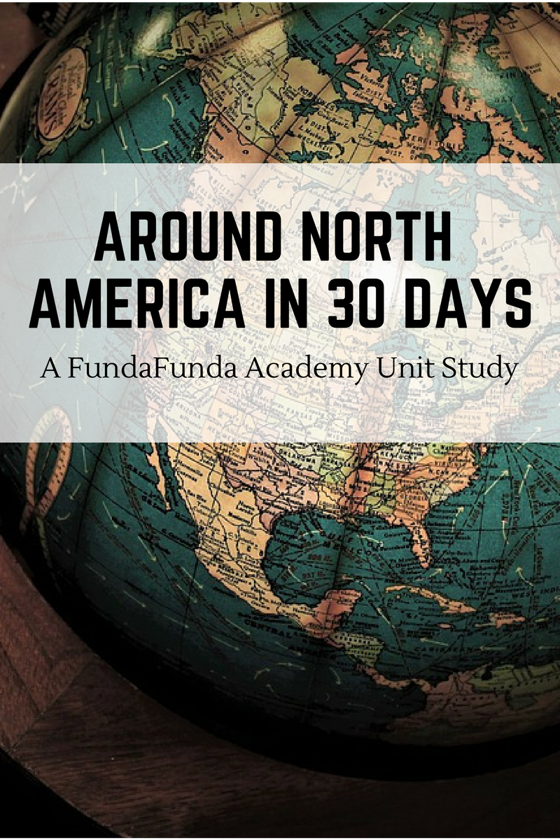 North America Map Outline Printable%0A Around North America in    Days