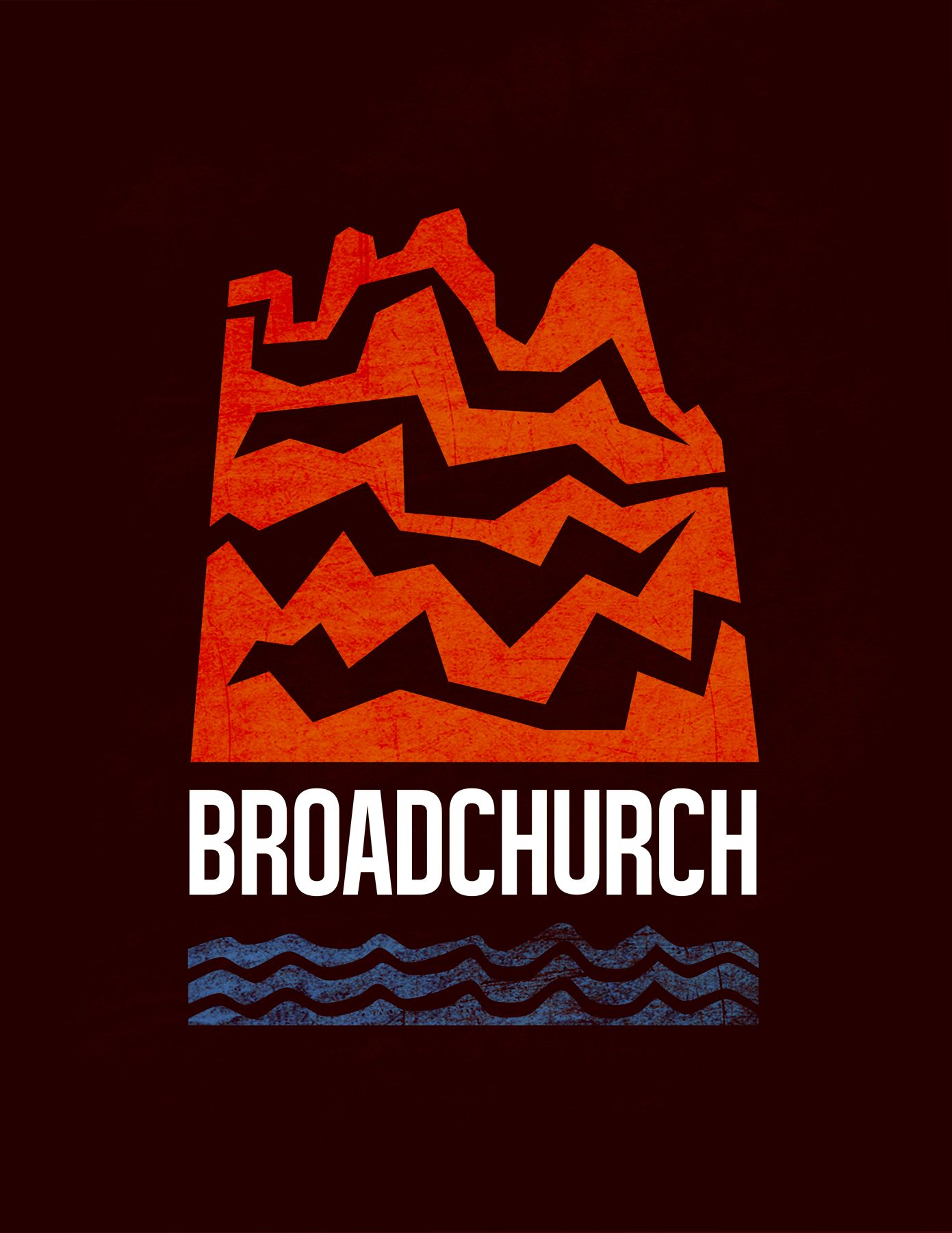 Logo for Broadchurch. #minimalist #minimal #poster #torn #edges #broadchurch #tvshows #television #shows