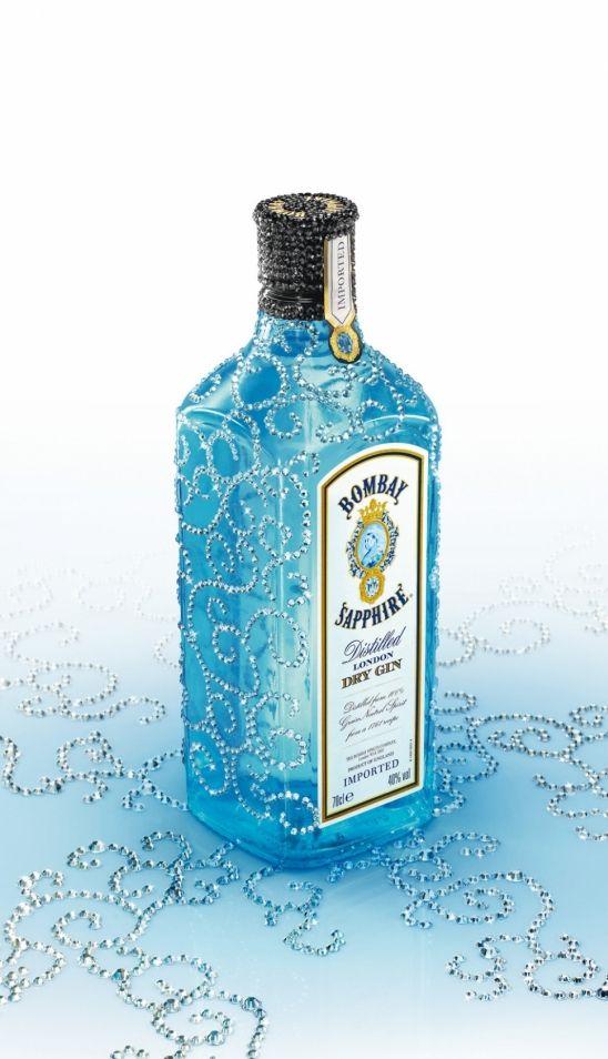Bombay Sapphire Bombay Sapphire Hard Drink Alcohol Bottles