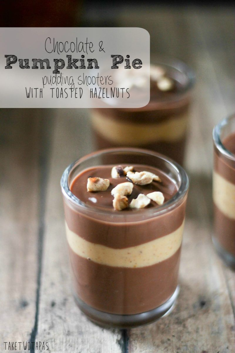 These delicious chocolate and pumpkin pie pudding shooters are easy recipes forumfinder Image collections