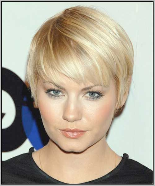 Most Beloved Short Hairstyles For Round Faces In 2018 Pixie