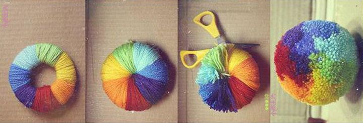 5 Adorable Pom Pom Crafts For Preschoolers And Kids Girl Scouts