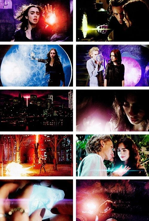 City of Bones + Light.