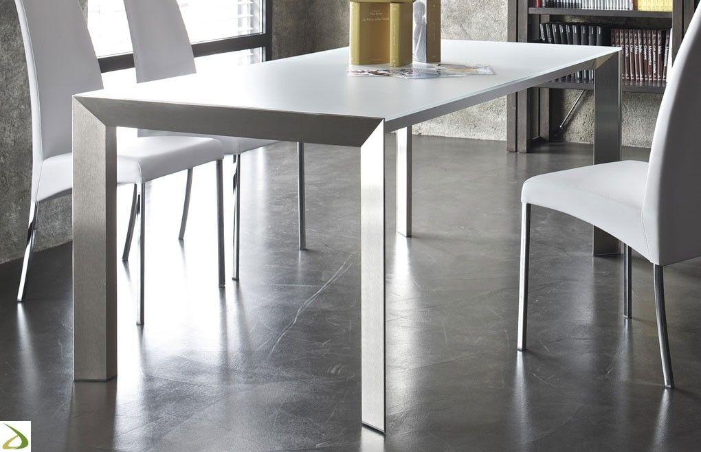 Tavoli Vetro Allungabili Bontempi.Tavolo Genio Home Decor Furniture Table