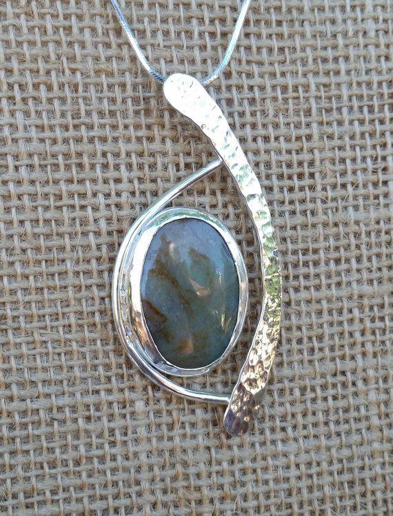 e8327530e8 Sterling Silver Pendant freeform design w/ by uniqjewelrybymarc ...