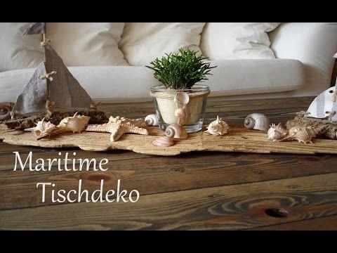 DIY | Maritime Tischdeko | Sommerdeko | Centerpiece | schnell und einfach | Just Deko - YouTube