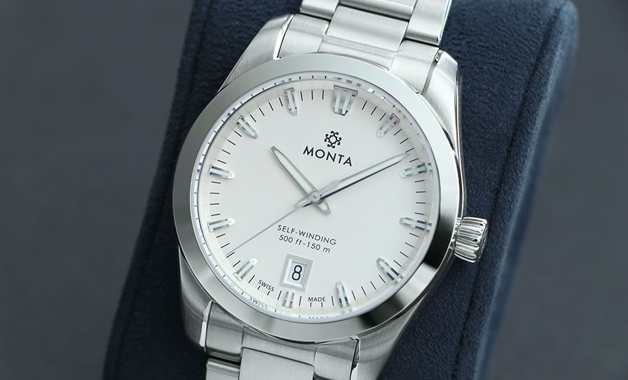 Monta Noble, Opalin Silver Dial in 2020   Swiss movement