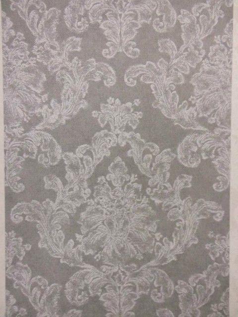 Tapete Ornamente Grau Weis As Kreation   Barock Ebay Wallpaper Murals Mural