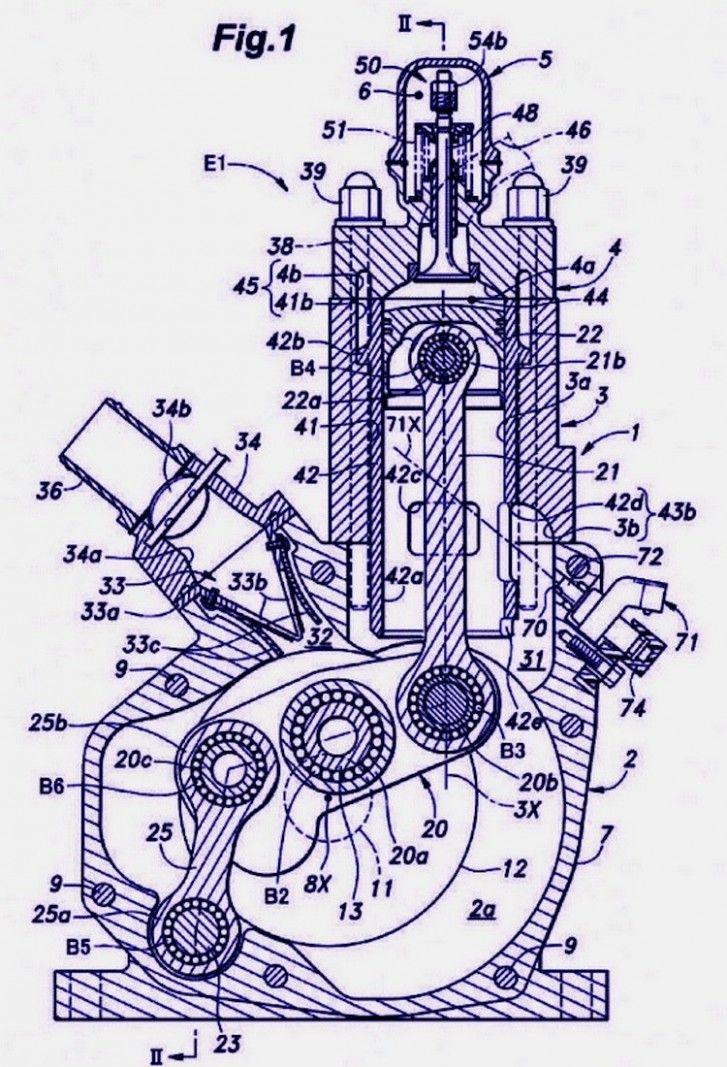 Two Stroke Engine Diagram Honda Motor Klasik Klasik Mesin