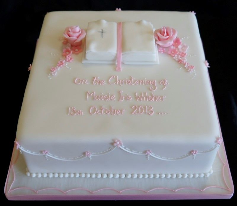 Square Christening Cake Images : square christening cake ideas - Google Search CAKE ...