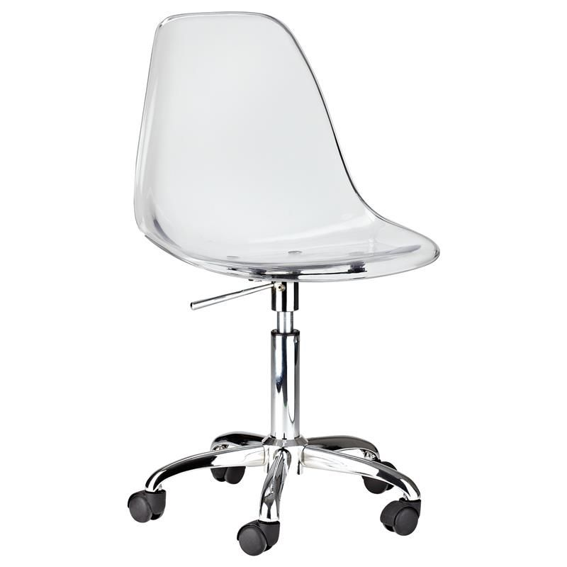 Clear Desk Chairs Clear Office Chair Kuntongda Inspirational Home