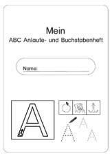 Abc Anlaute Und Buchstaben Deckblattpdf Bildung Pinterest