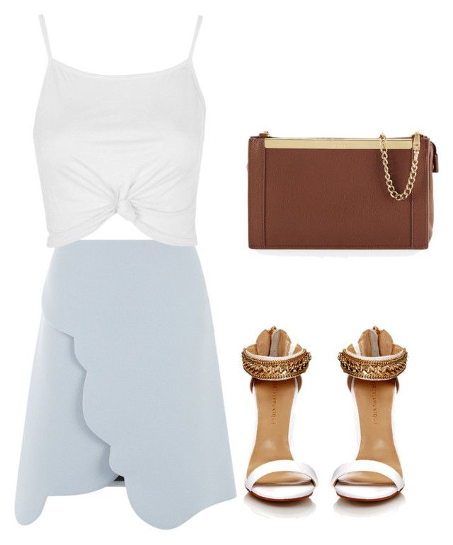 """""""Untitled #38"""" by lrcbears on Polyvore featuring Carven, Topshop and Foley + Corinna"""