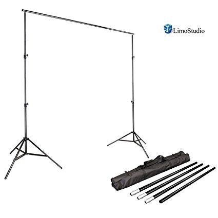 $34.99 LimoStudio Photo Video Studio 10Ft Adjustable Muslin Background Backdrop Support System Stand, AGG1112