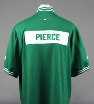 Paul Pierce #Game-Used #Worn #Celtics Warmup Jacket