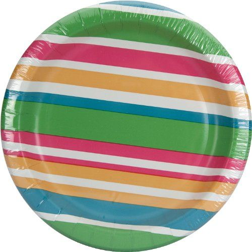 Nice colorful paper desert plates.  sc 1 th 225 & Nice colorful paper desert plates. | Party supplies | Pinterest