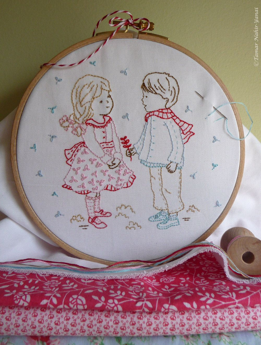2 of 2 This is so, so lovely. Lots more on this etsy site. Embroidery Pattern Instant Download Winter by TamarNahirYanai