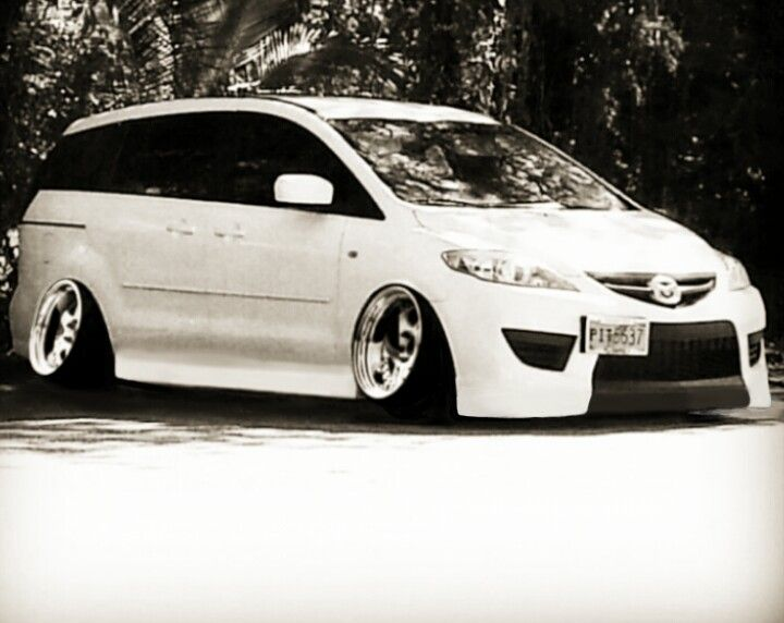 Mazda 5 Modified Lol We Should Do This To Our Car Sally Mini Van