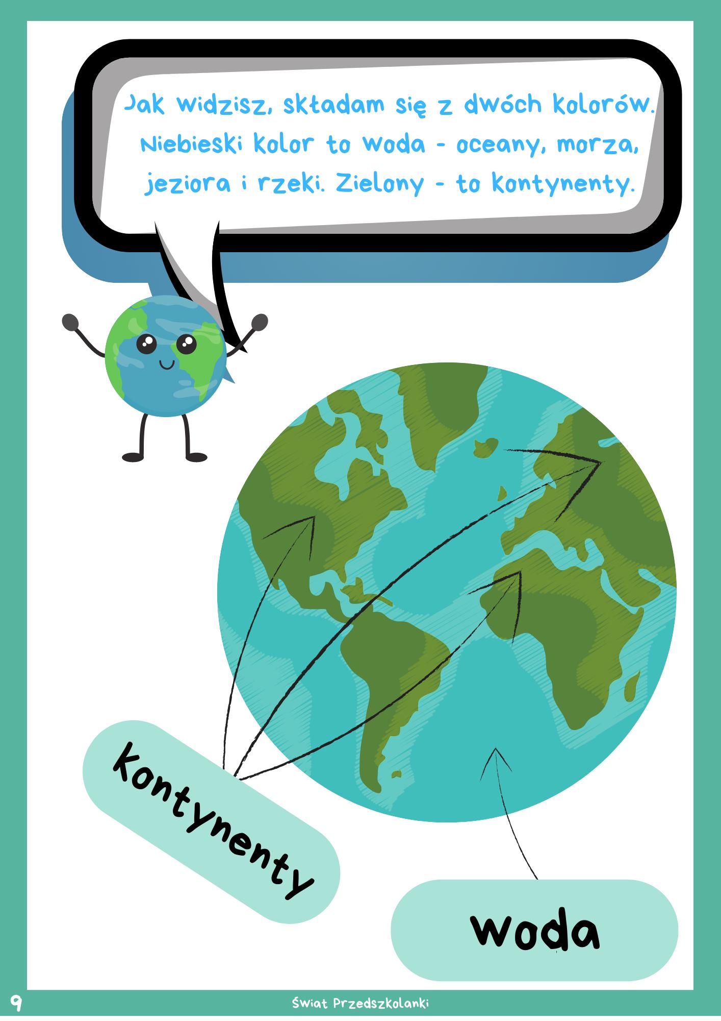 Dzien Ziemi Informator Dla Dzieci Swiat Przedszkolanki In 2020 Cute Coloring Pages Education Kids