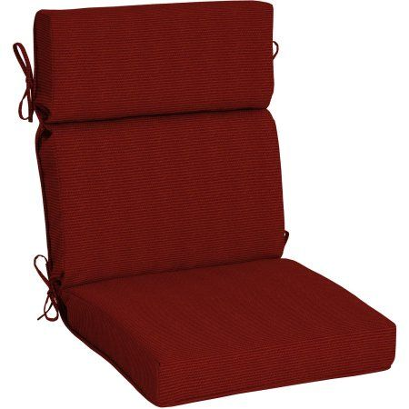 Arden Outdoors Snap Dry Fast Drying Outdoor Chair Cushion With Welt