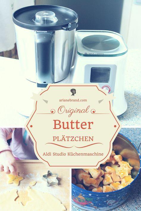 FOOD Butterplätzchen zum Backen mit Kindern - küchenmaschine studio aldi