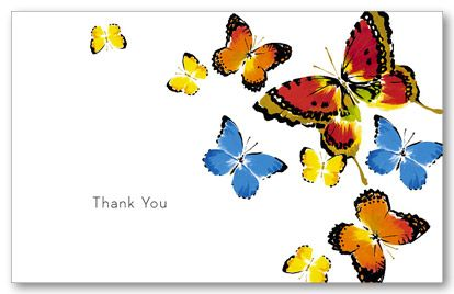 Butterfly thank you | Marketing | Pinterest | Condolences
