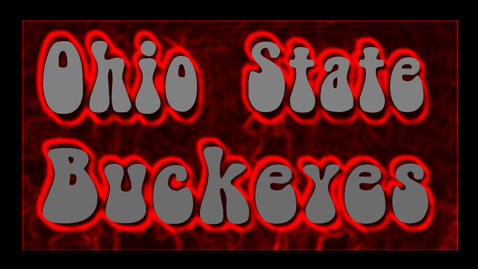 Wallpaper Of OHIO STATE BUCKEYES PSYCHODELIC GRAFFITI For Fans Ohio State Buckeyes
