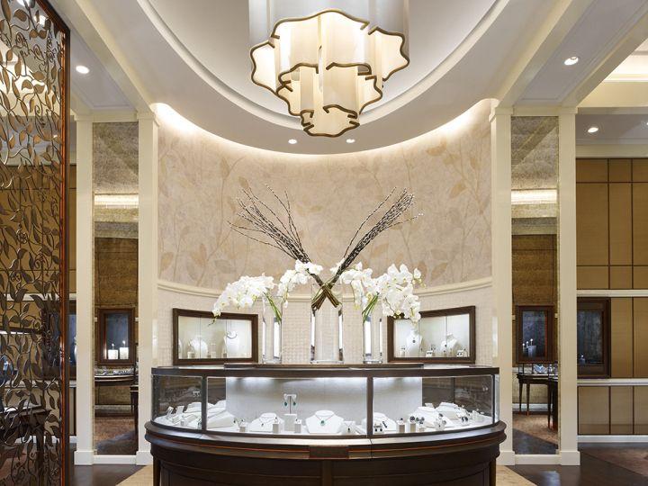 Dhamani 1969 Jewelry Boutique By Callison Dubai UAE Retail Design Blog
