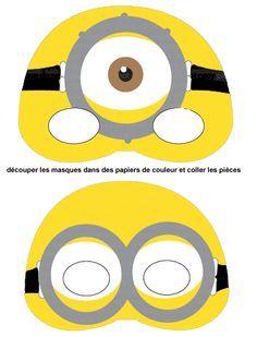 Masque Minion Minion Party Minion Mask Mask For Kids