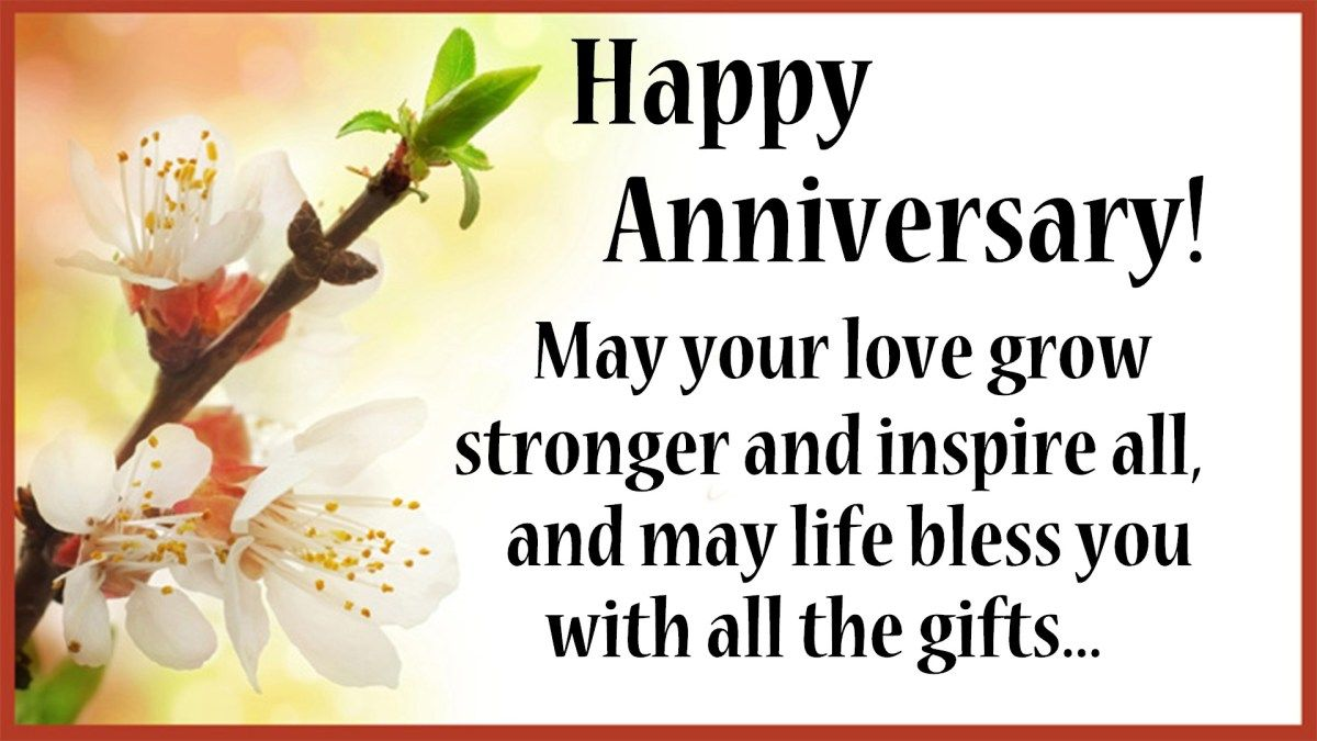 What Do You Say To Couple On Anniversary