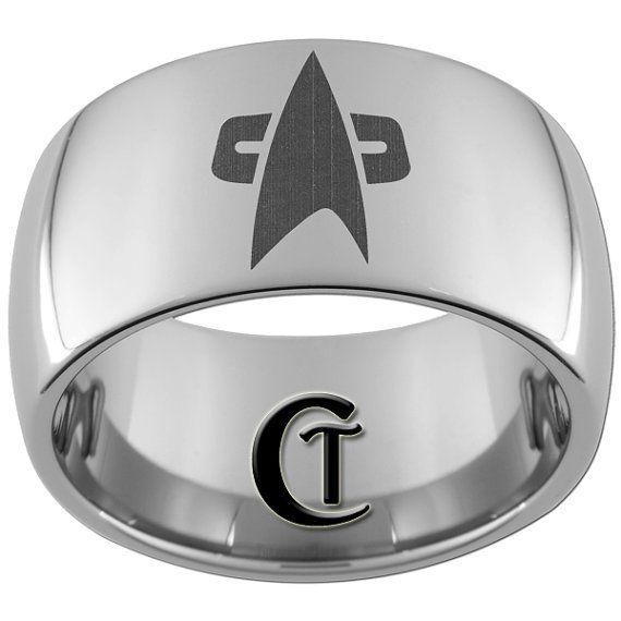 star trek ring - Star Trek Wedding Ring