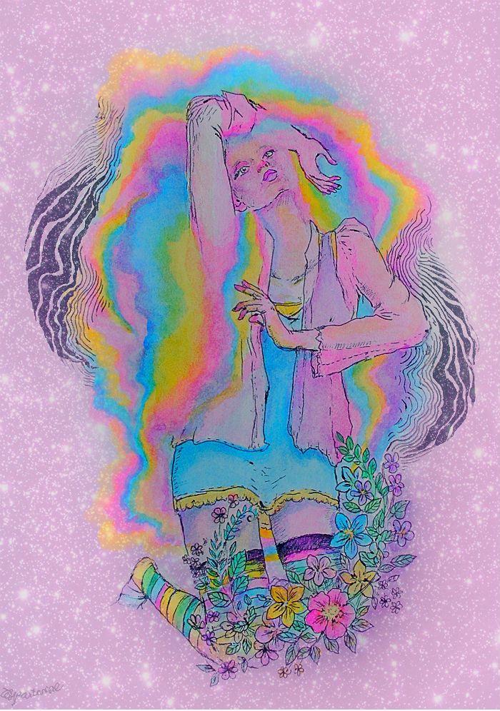 Lesbian hippie bangles