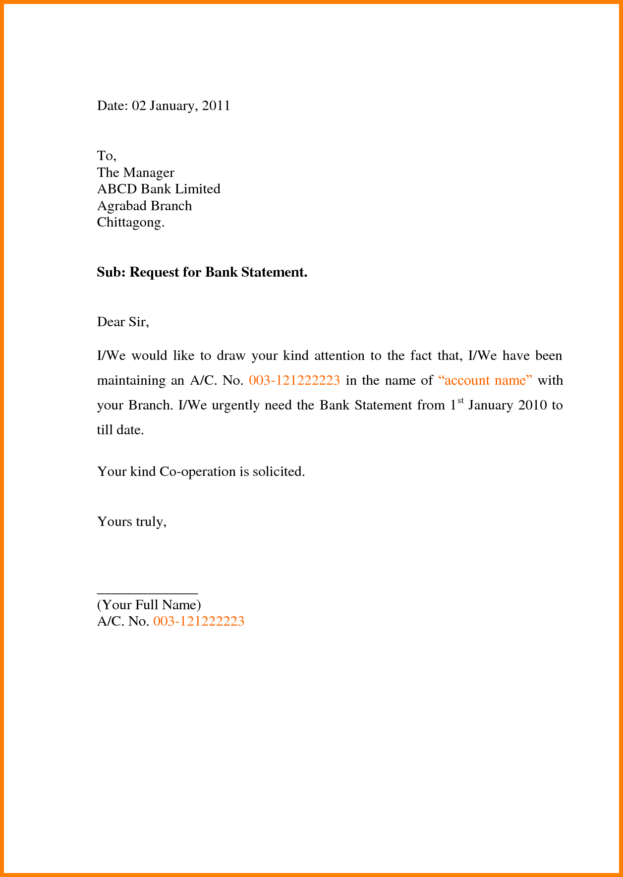 how to write application letter bank request statement shishita sample letter requesting bank