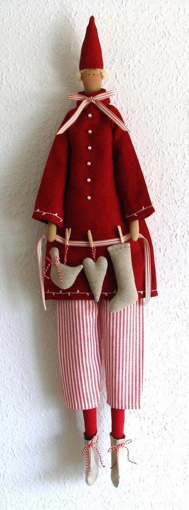 Кукла Тильда. Выкройки, идеи *Мамины Тильда* | Poupée ...