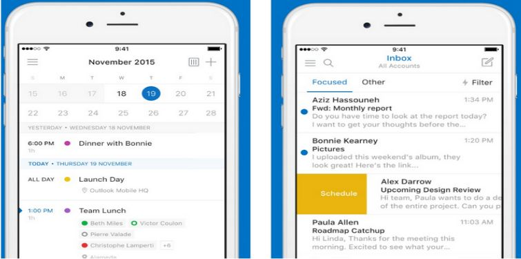 New Microsoft Outlook Update Comes To Ios And Android Appinformers Com News Apps Microsoft Outlook Calendar App