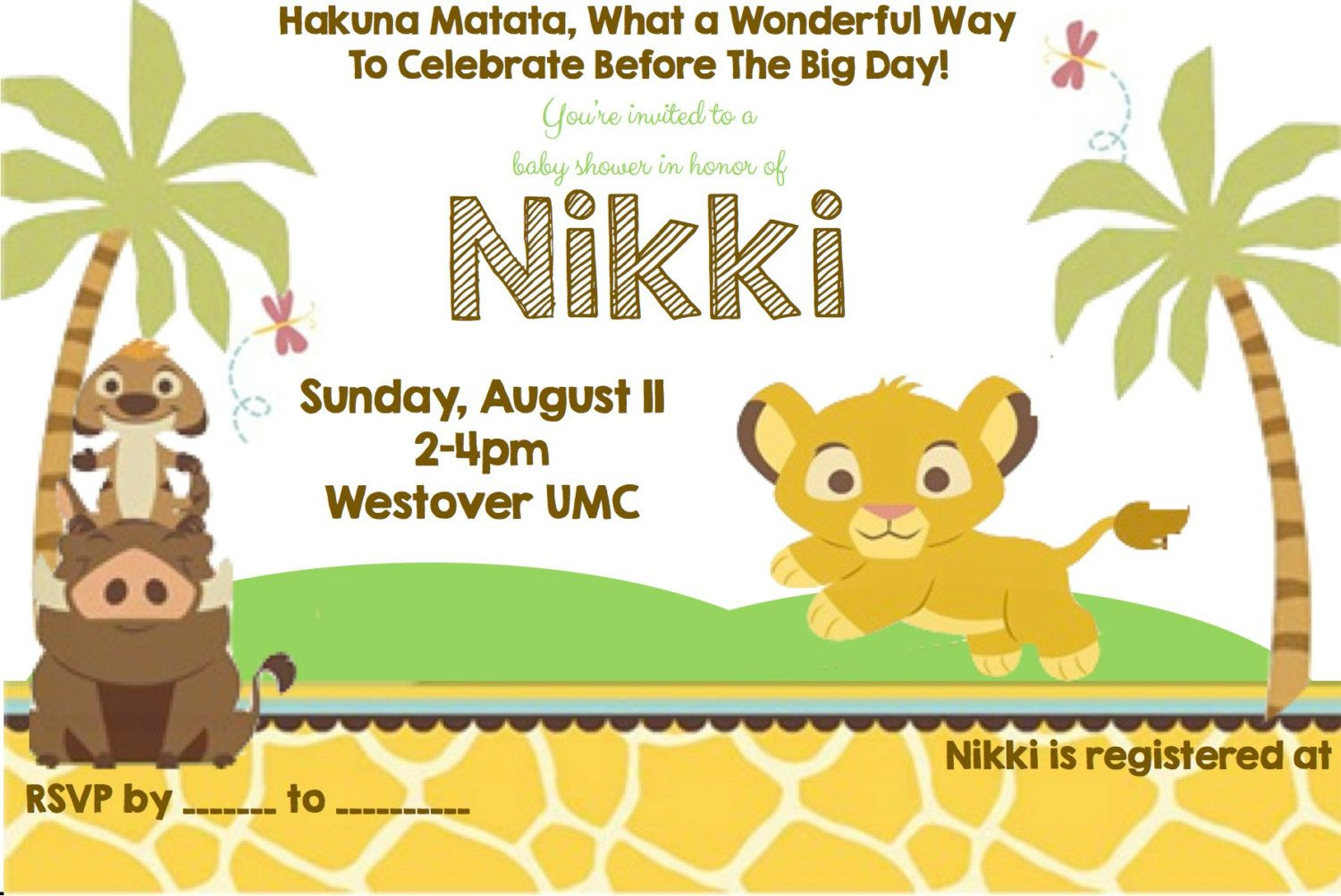 Baby lion king invites baby ideas pinterest babies lion king baby shower invitation by happydotcreatives on etsy filmwisefo Images