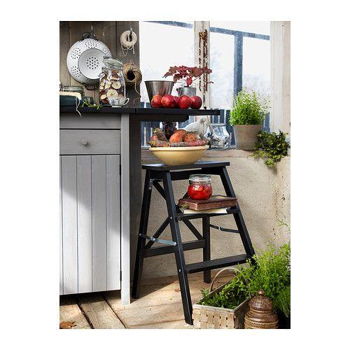 Ikea Kitchen Usa: BEKVÄM Stepladder, 3 Steps, Black