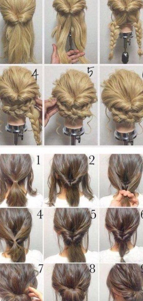 170 Einfache Frisuren Schritt f r Schritt Mit DIY-Frisuren ...