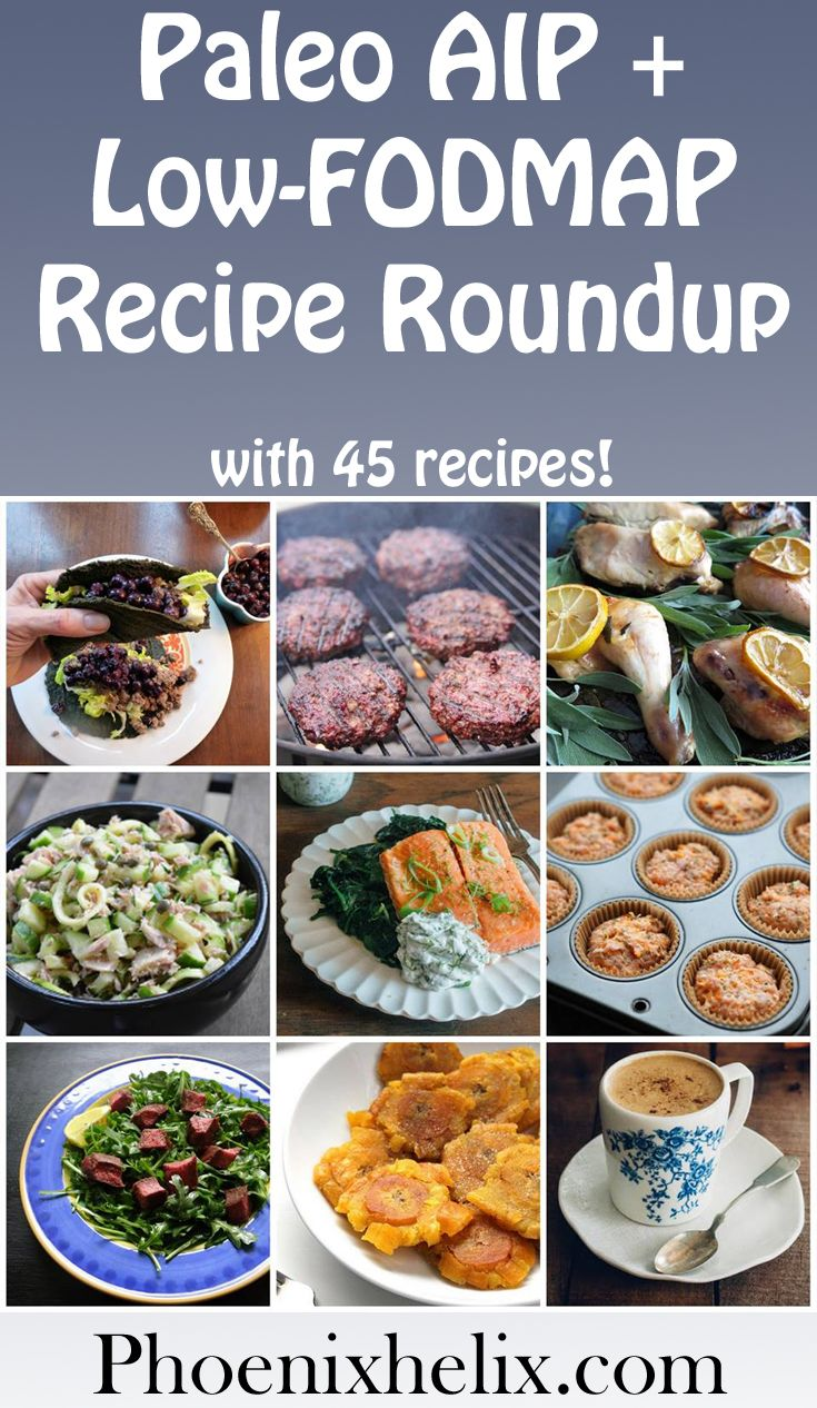 Paleo AIP + LowFODMAP Recipe Roundup (45 Recipes