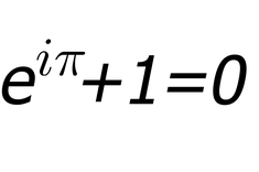 """Euler's Equation. """"Like a Shakespearean sonnet that captures the very essence of love, or a painting that brings out the beauty of the human form that is far more than just skin deep, Euler's Equation reaches down into the very depths of existence."""""""