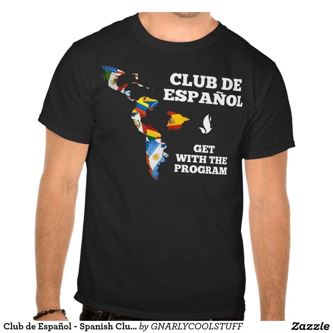 club de español - spanish club official shirt | clase de español
