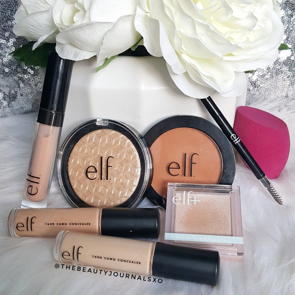 New ELF Makeup Haul and Reviews
