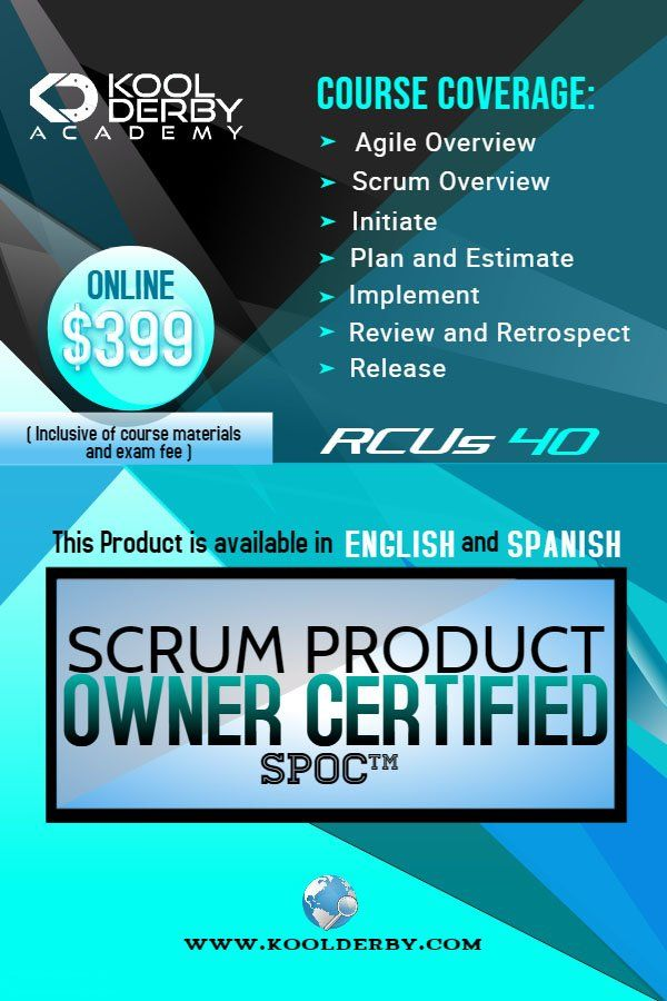 Our Productowner Certification Program Helps You To Understand