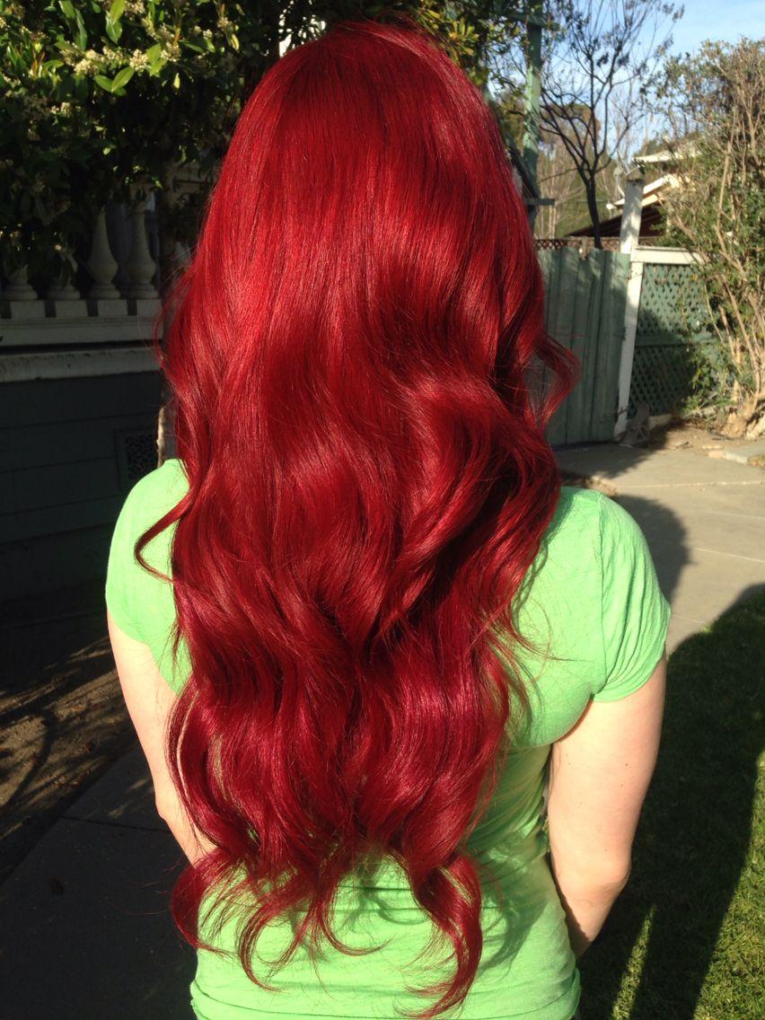 Red Hair Little Mermaid Hair Color Theglamroom Pinterest