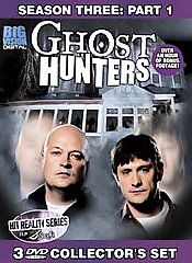 Ghost Hunters Season 3 - Part 1 (DVD, 2007, 3-Disc Set