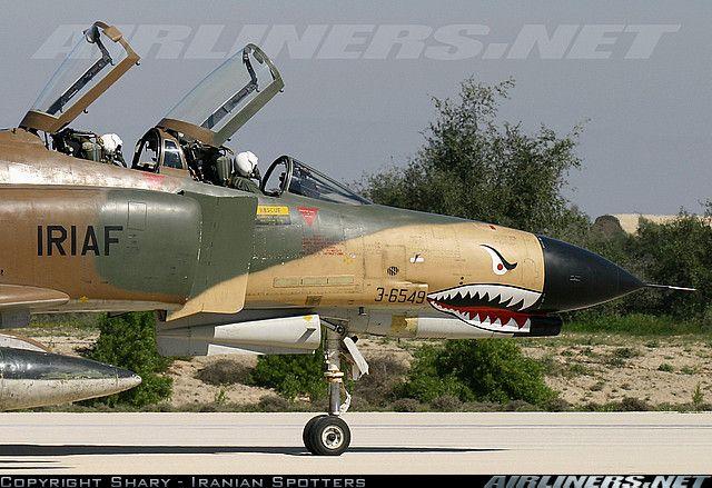 Islamic Republic of Iran Air Force: McDonnell Douglas F-4E Phantom II