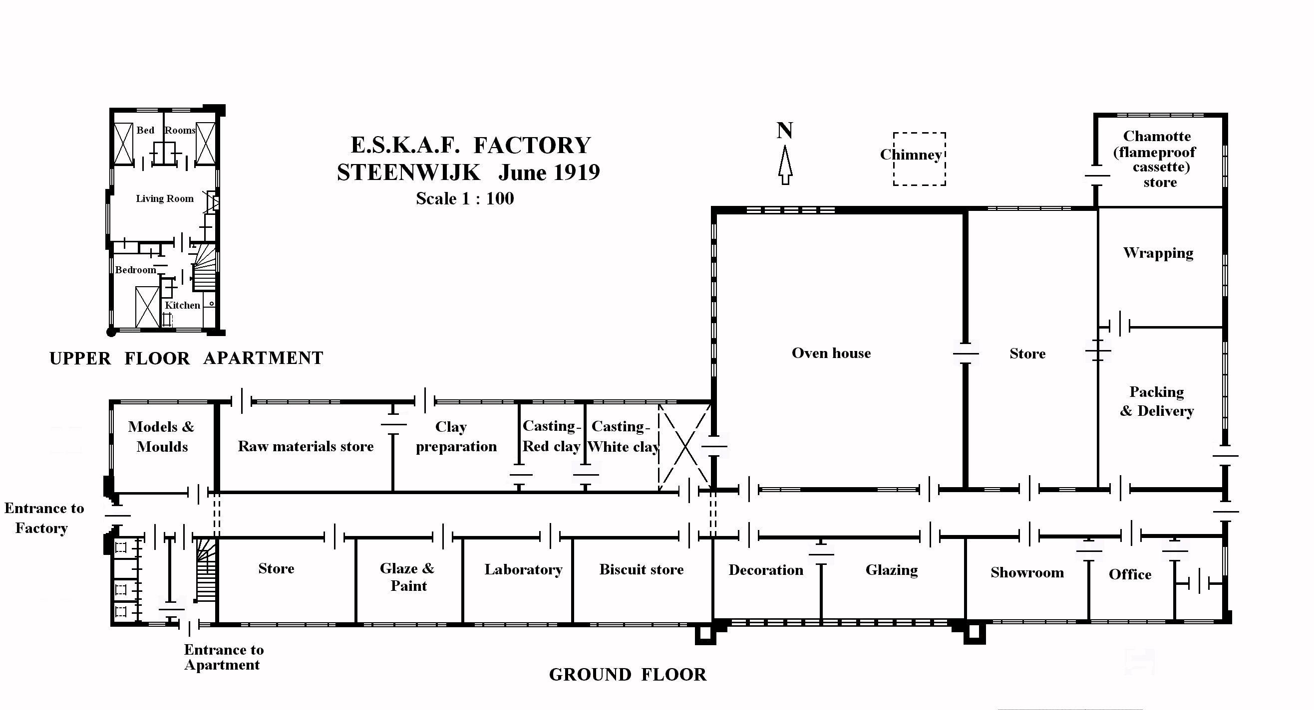 Floor plans pencil factory flats shops dream home for Kaplan floor plan