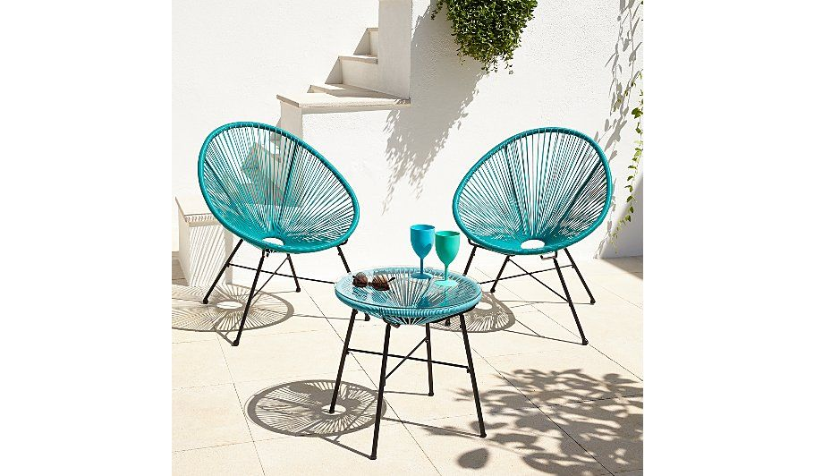 Camden 3 Piece Bistro Set - Green and Blue read reviews and buy online at  sc 1 st  Pinterest & Camden 3 Piece Bistro Set - Green and Blue read reviews and buy ... islam-shia.org