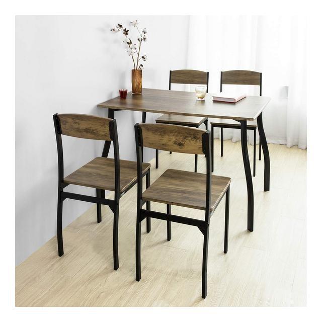 Set Tavolo da Pranzo con 4 sedie Tavolo e sedie cucina