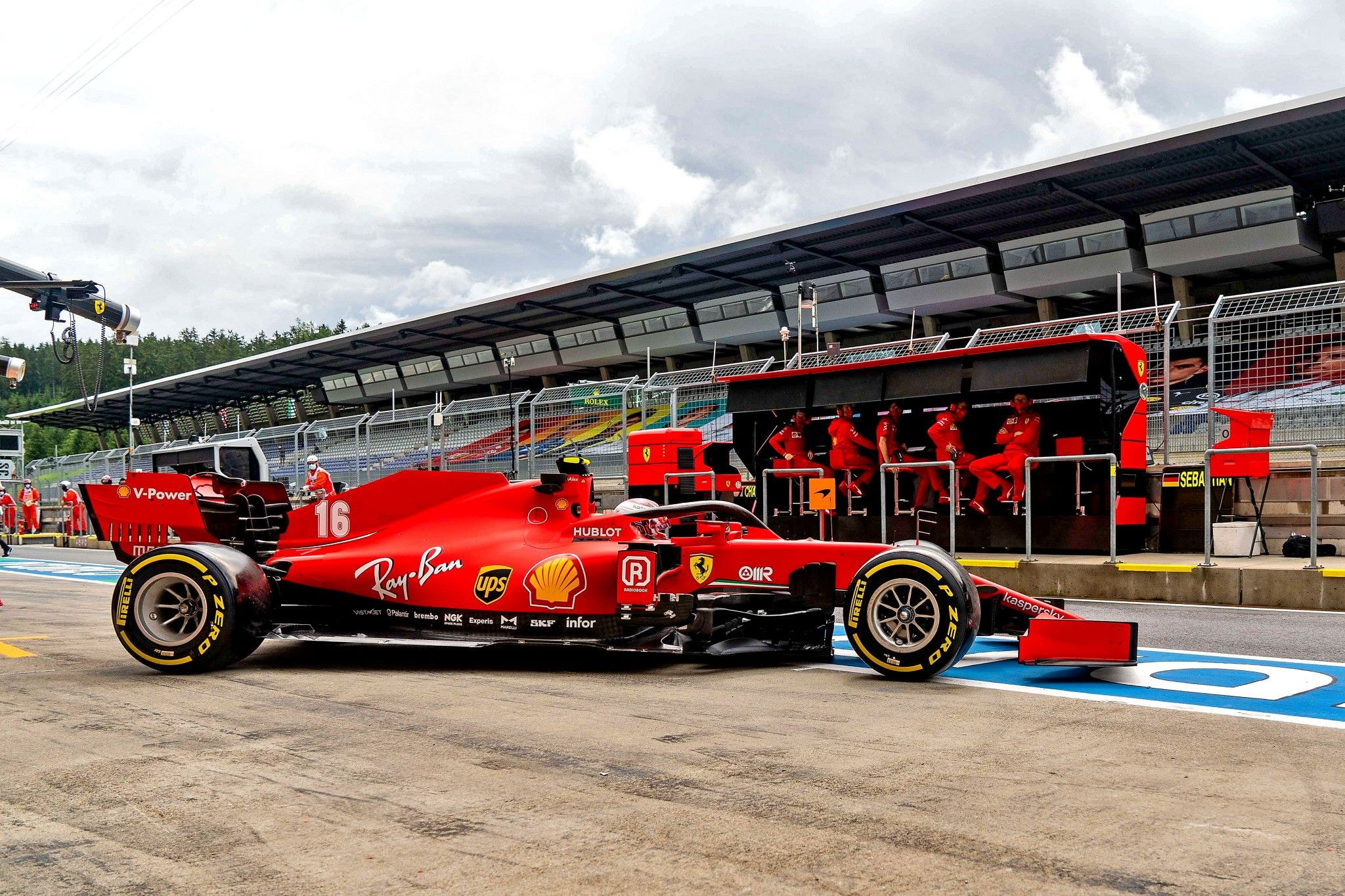 2020 Ferrari SF1000 (671) в 2020 г